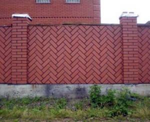 Два типа наружных кирпичных стен