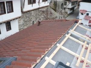 Кровельные монтажные работы на крыше