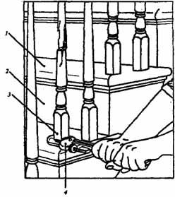 Как починить сломанные или расшатавшиеся балясины