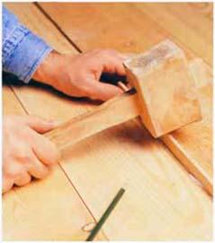 Как заделать щели и утихомирить скрип