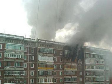 При монтаже натяжного потолка в квартире взорвался баллон газа